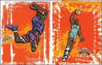 Vecteur de basket-ball