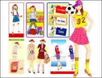 Las niñas, regalos, fútbol, golosinas, libros, bolsas escolares