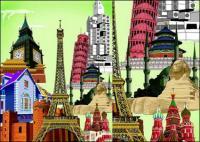 画期的な建物の世界