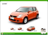 vector de coche SWIFT