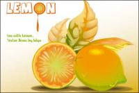 レモンのベクター素材