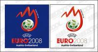 Logotipo de la Copa de Europa de 2008 vector de material