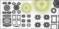 Líneas de seguridad estilo Vector 3 material de textura