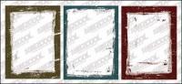 インク スタイル罫線ベクトル材料-2