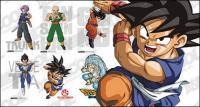 Personagens de Dragon Ball do material vector