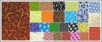 25 실용적인 패턴 배경 소재 벡터