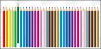 Lápiz de color, material de vectores
