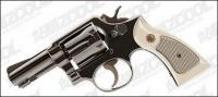 Revolvers vector วัสดุ