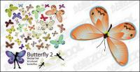 42 Butterfly-Vektor des Materials