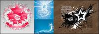 Éléments matériels de vecteur de thème étoiles-2