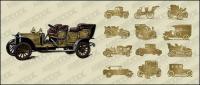 Carros clássicos vector