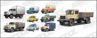 material de vector de camión