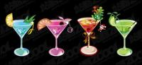 Hermoso verano bebidas