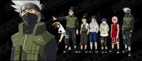 Naruto personajes vector de material