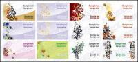 Plantillas de tarjetas del patrón tema--2