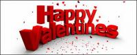 Modelado tridimensional de personajes 3D imagen Feliz San Valentín