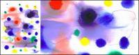 インク水彩画の画像素材-020 前に