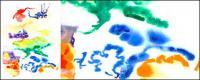 Antes de la acuarela de tinta imagen material-012