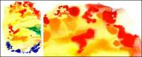 水彩インク画像素材-002 GoMedia を生産