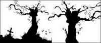 Vektor-Gräber und Bäume