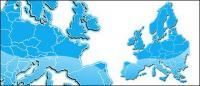 ヨーロッパの地図
