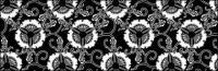 ベクトル伝統的なタイル張りの背景素材-12