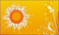 Muster der Sonne