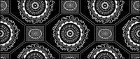 Material de fundo em mosaico tradicional vector-34