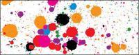 الاتجاه متجهة من عناصر التصميم-لون الحبر