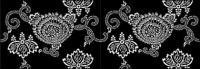ベクトル伝統的なタイル張りの背景素材-38