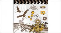Птицы, цветы, мониторы