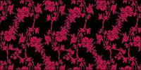 Vector subió moda de diseño del patrón