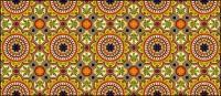 Azulejo clássico padrão vetor-1