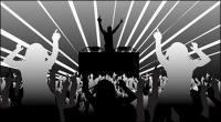 DJ e dança figuras