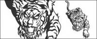 Vecteur de tigre