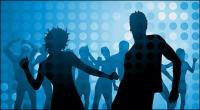 Discoteca bailando