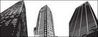 モダンな高層ビルのベクトル