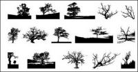ไปที่สื่อที่ผลิตเวกเตอร์วัสดุ - ต้นไม้ในรูปภาพ