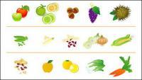 Ícone de frutas e produtos hortícolas