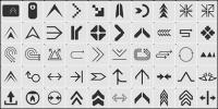 رمز السهم 1
