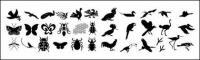 Cientos de elementos de la naturaleza en imágenes vectoriales material