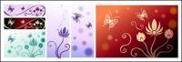 蝶とパターン