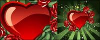 Прохладный любовь и розы