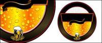 Logotipo de tema de cerveza