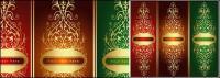 金の豪華なパターン