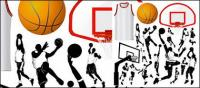 Basketball-Elemente des Designs