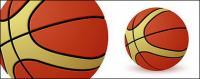 Un material de vector de baloncesto