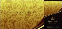 Континентальный фоновые рисунки и Корона
