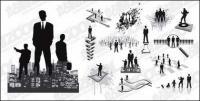Eine Vielzahl von Unternehmen zahlen, in Bilder-Vektor-material