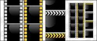 Matériel de film de cristal vecteur style film